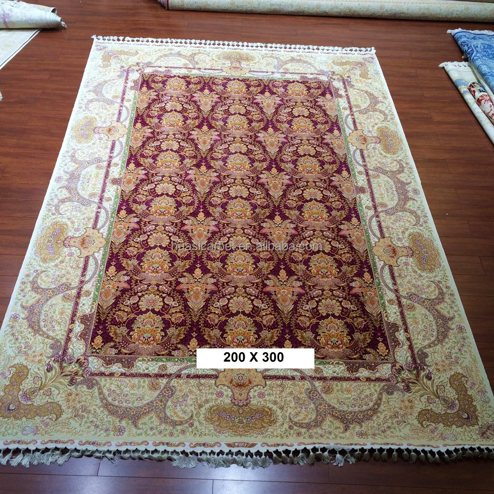 flowers of hope persian real silk nepali carpets hand knotted pure silk iran art rugs