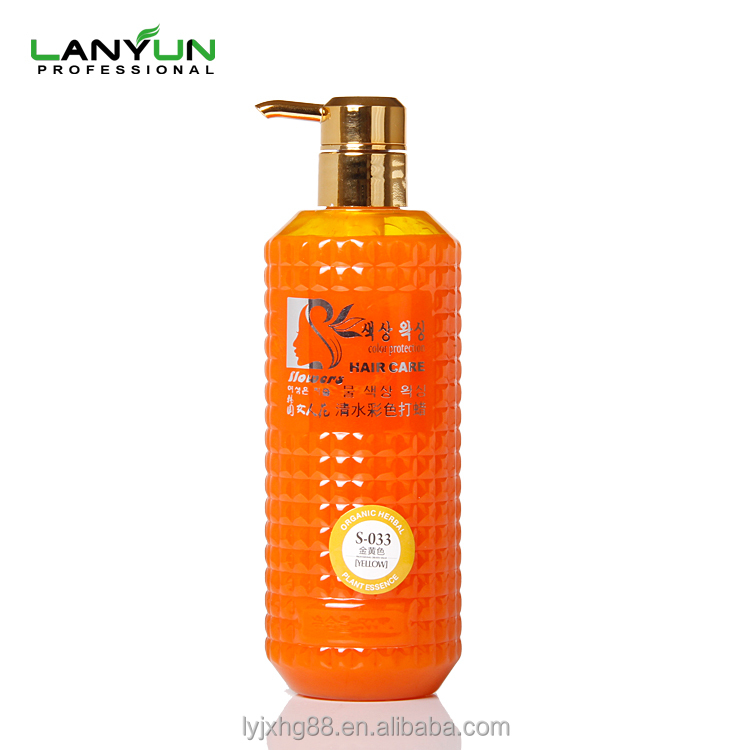 Lowest price best effect natural smell hair cream color product