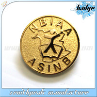 Manufacturer wholesale Collar Pin/Gold Army Metal Pins/army badges plastic