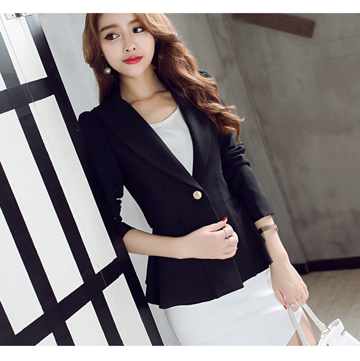 Hot sale new fashion ladies office suit 2017 women clothing