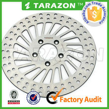"Chrome 11.5"" 11.8"" Mesh Spoke Stainless Front Rear Disc Brake Rotor Set for Harley and Davidson"