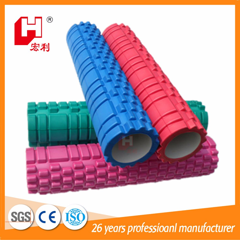 Body building OEM logo printing eva foam roller massage smooth