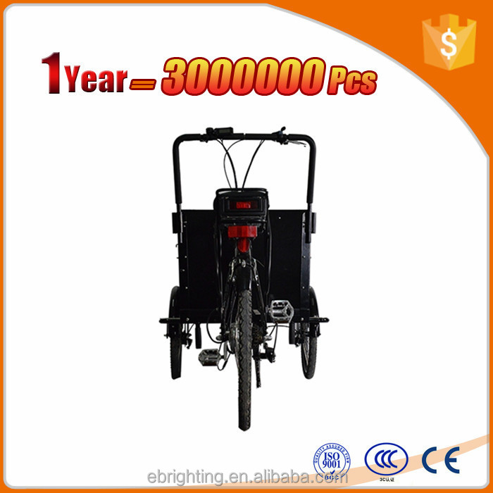 battery operated bike family cycle cargo e-bike