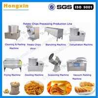 Commercial automatic pringles potato chips making machine