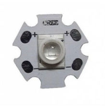 LED lighting UV 400nm 3W High Power LED (No lens, the chip surface covered with silicone to protect the LED)