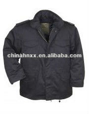 Waterproof Alpha M65 army combat jacket with fur liner