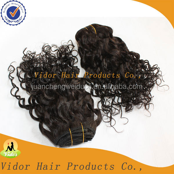 High Quality And Best-selling Virgin Brazilian Jerry Curl Hair Weave
