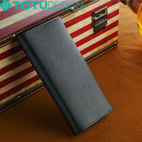 Wholesale Fashion Best Holding Feeling Genuine Leather Wallet Case Cell Phone Case