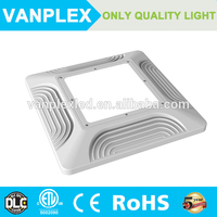 CE ROHS listed100w Surface mounted canopy fixture,universal 85-265V operation,led canopy light