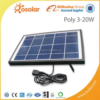 factory direct solar modules pv panel photovoltaic poly-crystalline 12v 15w solar panel