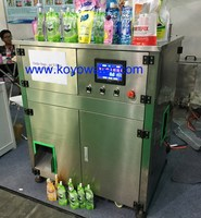 PET/NY/PE retort spout pouch packing machine for water and fruit juices