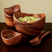 Nice design High demand Acacia wooden salad bowl