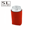 Anti-oil Beer Bottle Insulated Red Neoprene Cooler Bag