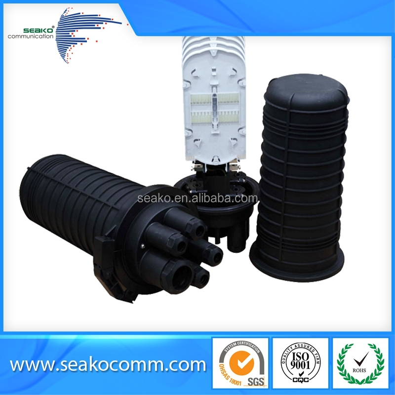 optical fiber cable joint closure , dome style, 96 cores , waterproof, moderate price