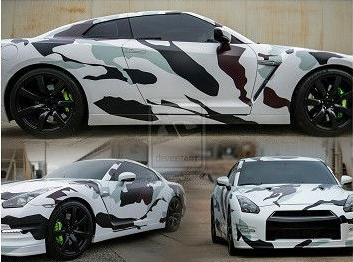 best camouflage car body vinyl wrap, 3d car wrapping paper roll, car color sticker