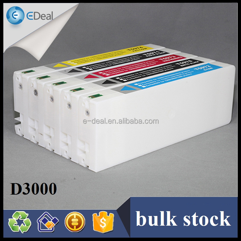 Large format ink cartridge for Epson D3000 ink cartridge