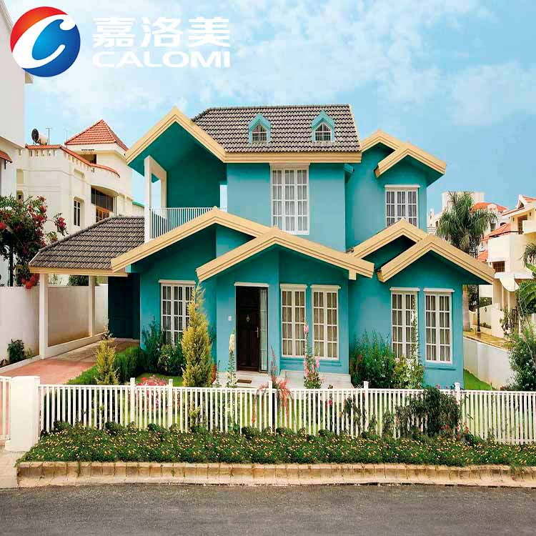 Calomi Fungus resistance good flexibility napping effect exterior wall paint coating