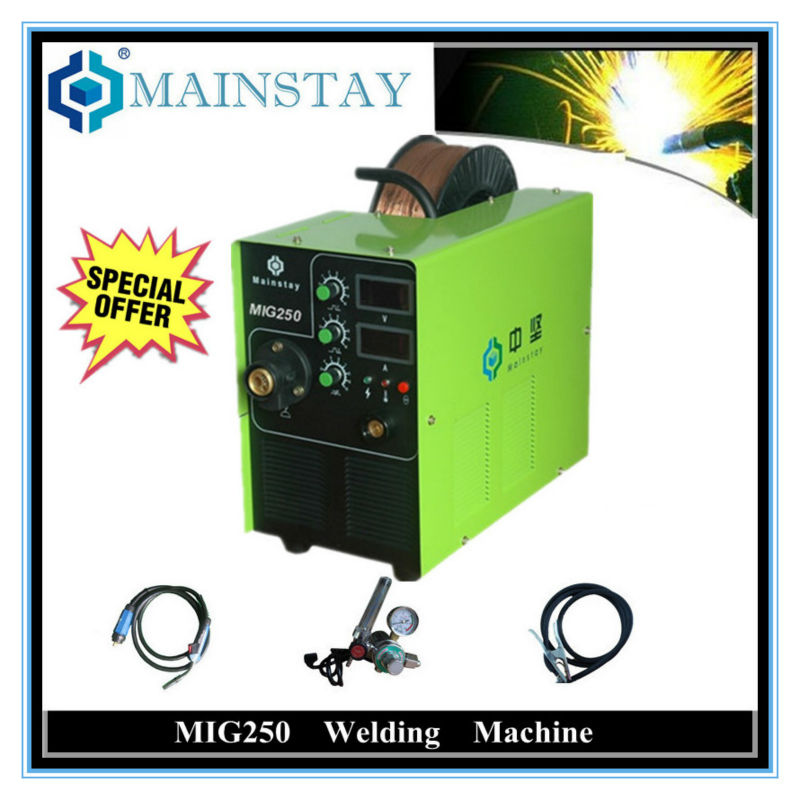 The Mainstay mig star 250A welding machine hot selling