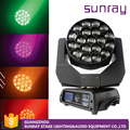 Competitive Price Dj Party Stage Use 19 Pcs 4 In 1 Sharpy Beam Zoom Led Moving Head Rgbw Wash Light