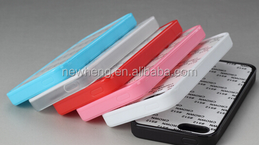 high quality, blank 2d sublimation case for iphone 5