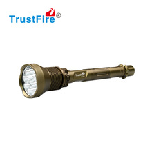 factory oem custom led hunting torch light the trust fire bright tactical flashlight