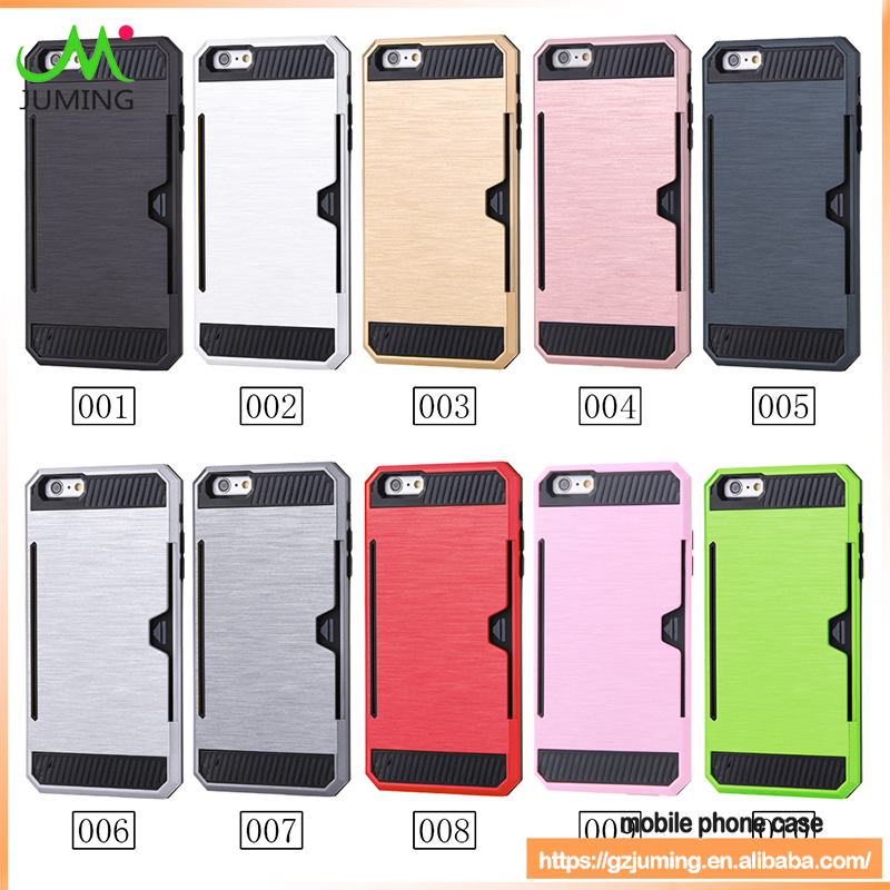 For iPhone 6 Case Cover Shockproof PC+TPU 2 in 1 Armor Mobile Phone Case