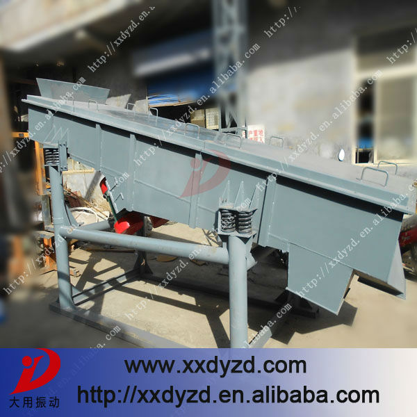 Widely application and special design sand vibration screen machines