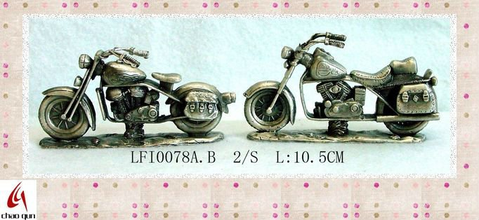 2012 crafts classical pewter Halley motorcycle model 78