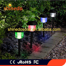 Muti Color Solar Powered Stake Light Wireless led Garden Light Path Walkway Patio Lawn Outdoor Decoration