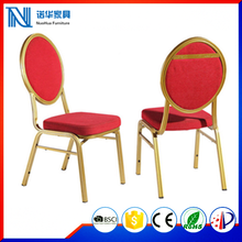 Stacking Metal Hotel Hall Restaurant Banquet Wedding Chair