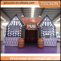 2016 new design products advertising inflatable bar inflatable pub for sale
