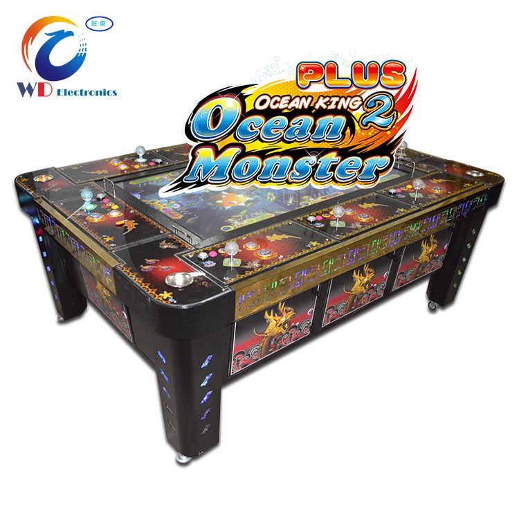 Fishing Video game machine thunder dragon fish hunter arcade game/ ocean king 3 multiple shooting fish table game