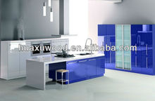 PU paint board / simple fashion kitchen cabinet