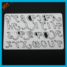 alphabet letters craft cutting stencil dies for scrapbooking