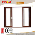 Manufacturing Thermal break aluminium frame door With Germany Hardware