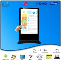 65inch touch screen coffee table multimedia touchscreen information kiosk