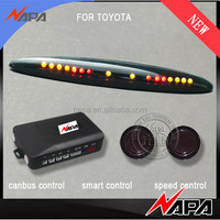 The special car use wiring-free car front obstacle Sensor system for toyota corolla