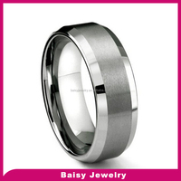 China factory direct sale 8MM tungsten ring men