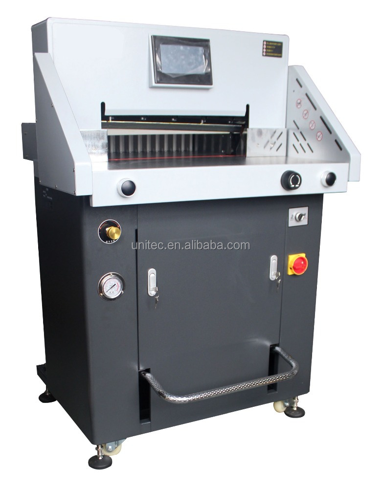 Wholesale Hydraulic and programmable paper cutting machine guillotine