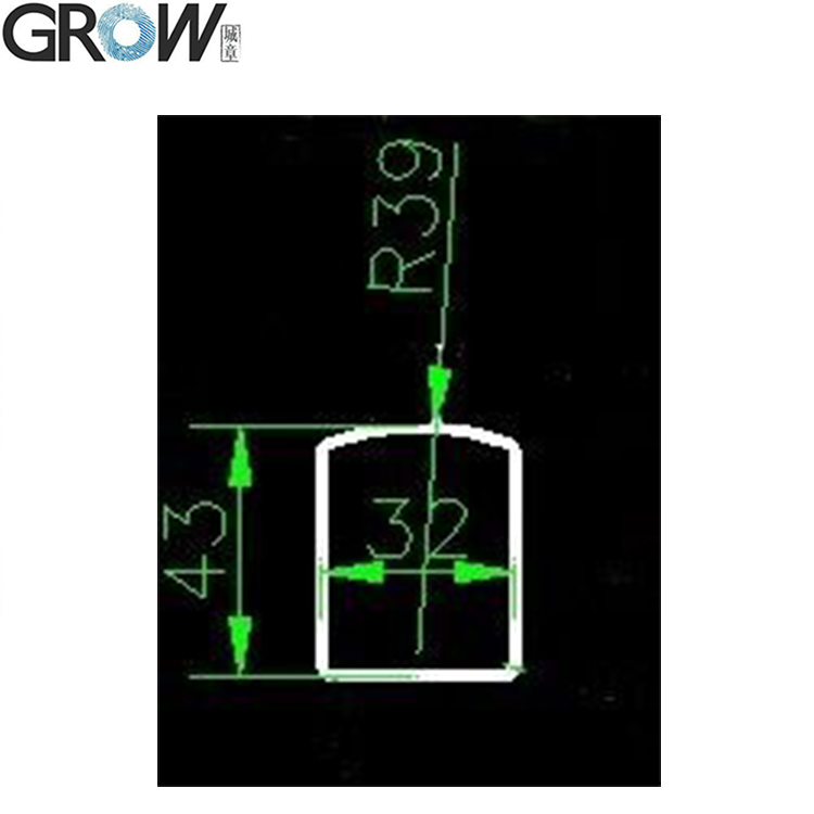 GROW Bracket of Semiconductor Fingerprint Access Control Module Scanner Sensor(R301T/R302/R303/R306)