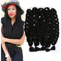 wholesale price synthetic hair extension jumbo braiding hair braids sythetic x presssion brading hair