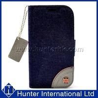 Jean PU Leather Phone Case For Samsung Galaxy S3