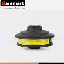 Trimmer head of plastic with fixed nylon line fits for Stihl brush cutter spare parts for grass cutter