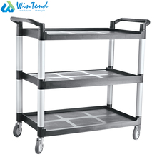 Commercial assembling rolling industrial utility cart for hotel