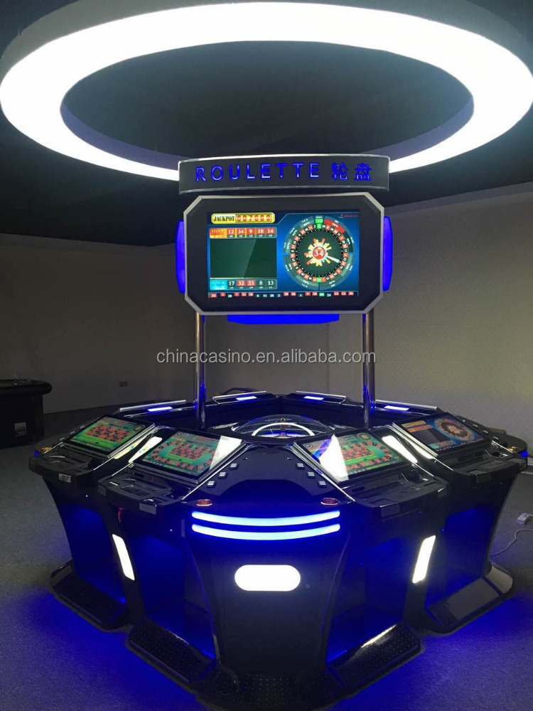 6/8/12 Players Electronic Bingo Roulette Game Machine for Sale