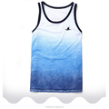 Custom Brand Mens Tank Top Without Sleeves Stringer Fitness Men Casual Tie Dye Shirts Tank Top Muscles