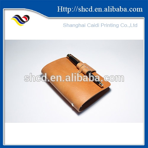 vinyl PU leather cover diary