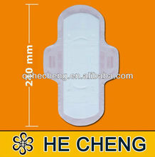 disposable winged sanitary napkin for lady