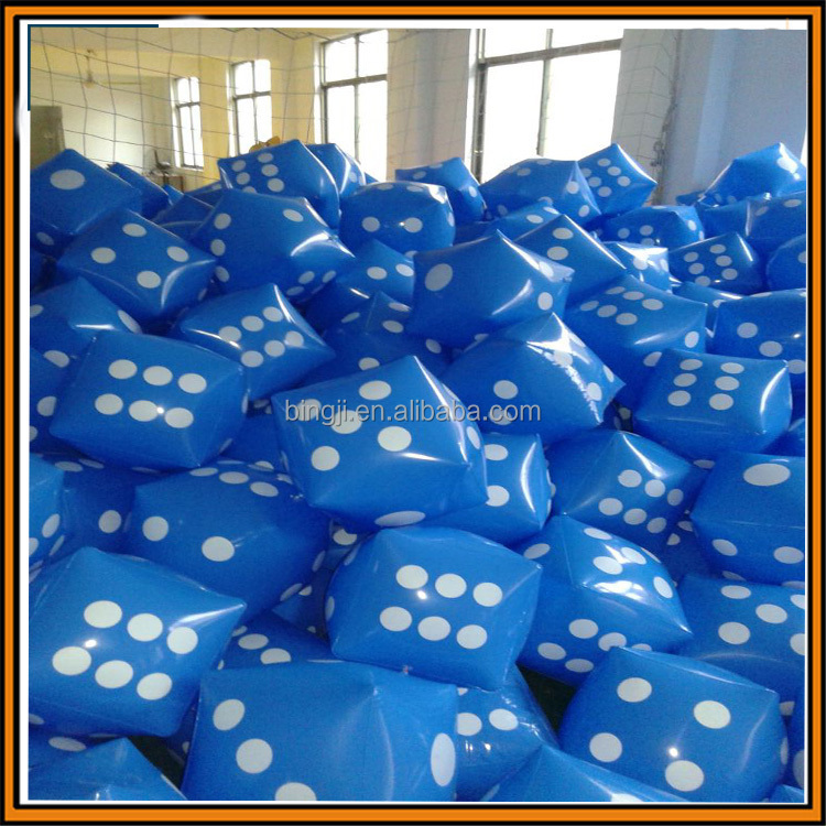 factory custom inflatable pvc dice inflatable cube