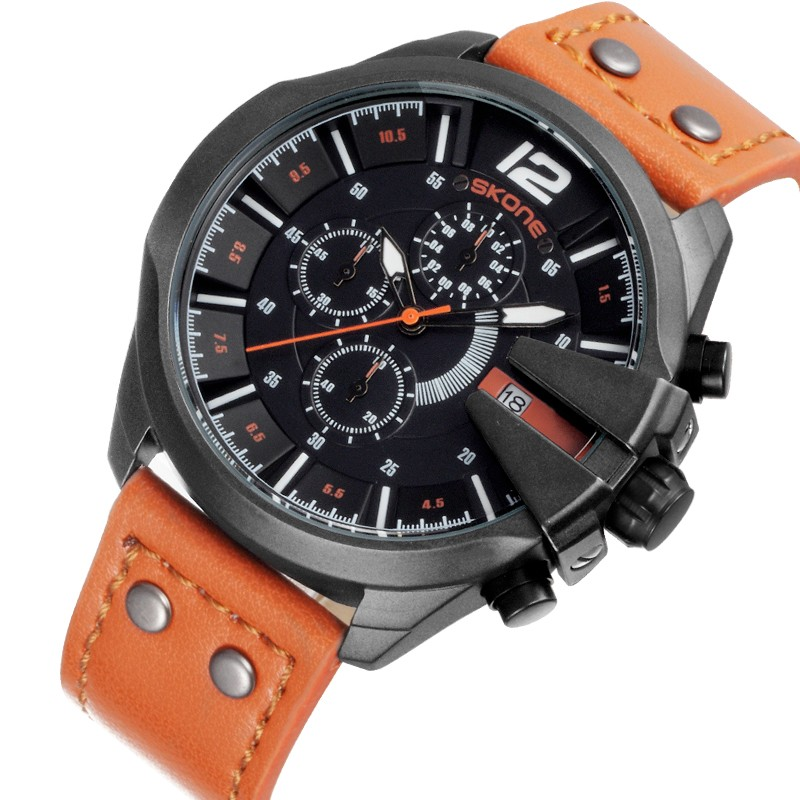 SKONE 9430 timing function young boys watches